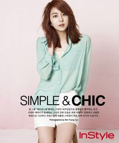 [PHOTOSHOOT] Uee for InStyle