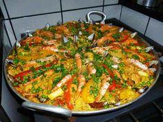 Paella Frutos do Mar | Receitas Brasileiras e Portuguesas