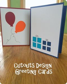 Greeting Card Series v2: Cutout Design