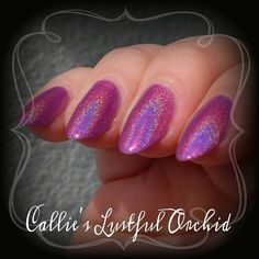 Inspired by the Pantone color of the year I bring you. Callie's Lustful Orchid. A little bit naughty but 100�0gorgeous. Unless otherwise noted all Bear Pawlishes are 4 free.. Meaning they are free of the toxic properties- Dibutyl Phthalate, Toluene, Formaldehyde or Formaldehyde Resin. They are also Vegan and Cruelty Free.Each bottle is poured to order. Most are hand mixed in the bottle. Each bottle will be unique to you. As I also do custom orders and do very small batch or si...