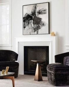 Enhance Your Senses With Luxury Home Decor Luxury Homes Interior, Luxury Home Decor, Luxury Apartments, Cheap Home Decor, Interior Design, Home Fireplace, Living Room With Fireplace, Fireplace Surrounds, Fireplace Design