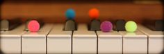 Fun and creative way to help young piano students visualize scales!