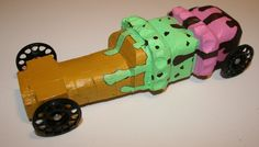 girl scout pine wood durby cars | My youngest daughter wanted to build an Ice Cream Cone …