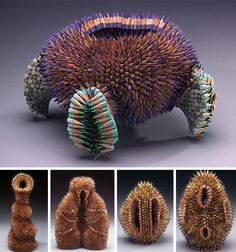 Jennifer Maestre Creative Colored Pencil Art  Sculpture