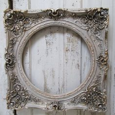 french nordic style   French Nordic antique style frame large ornate by AnitaSperoDesign, $ ...