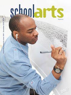 SchoolArts Magazine, December 2014. Express, art education magazine for K-12 art educators #ArtEducation #ArtEd