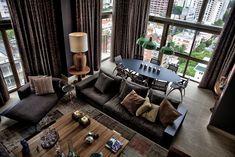 Penthouse Apartment by Tellini Vontobel Arquitetura