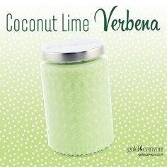Coconut Lime Verbena Fragrance by Gold Canyon. Coconut and lime fuse together for a playful rendezvous with a hint of creamy vanilla. Gold Canyon Candles, Gold Candles, Best Candles, Scented Candles, Candle Jars, Candle Holders, Vanilla Candles, Scent Warmers, Room Freshener