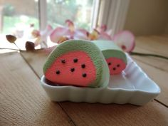 Watermelon Bubble Bar  Solid Bubble Bath by WhippedUpWonderful