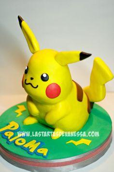 Pikachu 3D Cake   Vanessa Rodríguez
