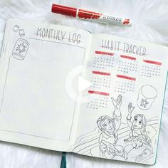 Add a sparkle of childhood magic to your Bullet Journal with these beautiful Disney Inspired Bullet Journal Layouts. Plus get a free printable set of Disney stickers. Birthday Bullet Journal, May Bullet Journal, Bullet Journal Tracker, Bullet Journal Themes, Bullet Journal Layout, Bullet Journal Inspiration, Classic Disney Movies, Disney Movies To Watch, Bujo