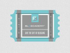 Blogcademy Ticket