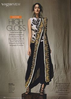 Vogue India modern indian outfit