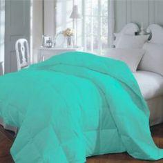 Amazon.com: Teal Premium XL Twin Dorm Comforter Set, Twin Extra Long: Home & Kitchen