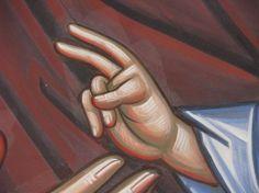 Розпис кафедрального собору (прав.. Religious Images, Religious Icons, Byzantine Icons, Painting Process, Orthodox Icons, Christian Art, Ikon, Style Icons, Give It To Me