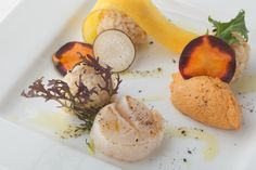 Angel Prawn Mousse and Scallop http://g-veggie.com/gandv/