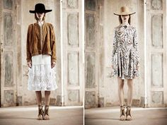 Love these! especially the dress on the right. Natalie Ratabesi for Alberta Ferretti's younger label, Resort.