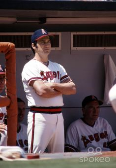 1978 california angels   California Angels manager Jim Fregosi during the 1978 season at ...