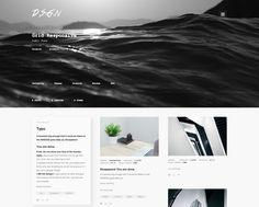 Portfolio Tumblr Theme #tumblr #theme #layout #portfolio #inspire #gallery #grid