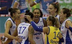 Rio de Janeiro bate Minas e joga final da Superliga Feminina pela 13ª vez seguida