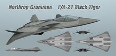 Generation 6 fighter Northrop Gruman F/A-21 Black Tiger