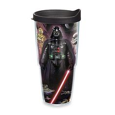 Tervis Star Wars Wrap Tumbler with Lid keeps hot drinks hot and cold drinks  cold Double 2be8df4909e5