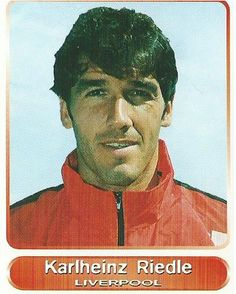 Karlheinz Riedle Liverpool Players, Fc Liverpool, Liverpool Football Club, Laws Of The Game, Something In The Way, Association Football, Player Card, Battle Cry, Football Stickers