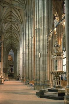 The ancient Canterbury Cathedral, Kent, UK. Been here and it is breathtaking!