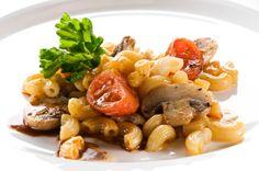 Ensalada de pasta y hongos