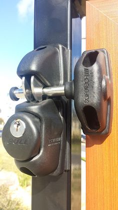 Gate Hinges, Gate Latch, Jeep Cherokee Bumpers, Vinyl Gates, Gate Locks, Home Security Tips, Back Plate, Viper, Fencing