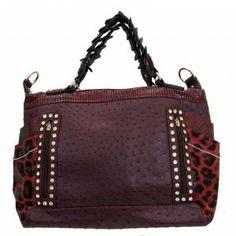 http://purpleleopardboutique.com/1606-4252-thickbox/red-leopard-burgundy-ostridge-skin-faux-leather-satchel-bag.jpg Burgundy leopard purse satchel.