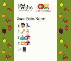 Here is the sixth question of the Health Quiz, Fruit Names, Fruit Box, Healthy Fruits, Healthy Lifestyle, Healthy Living, Entertaining, This Or That Questions, Healthy Life