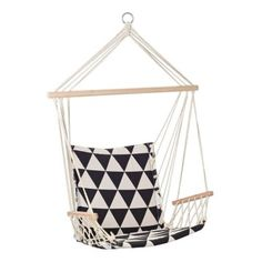 Inspiring Hanging Chair Design Ideas Suitable For Outdoor 07 Toddler Desk And Chair, Wooden Baby High Chair, Hanging Hammock Chair, Swinging Chair, Hanging Furniture, Furniture Ideas, White Desk Chair, Home Design Decor, Home Decor