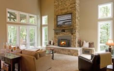 10 Fireplaces That Make You Feel Cozy http://hhdustoneandbrick.blogspot.com/2013/12/10-stone-fireplaces-that-make-you-feel.html