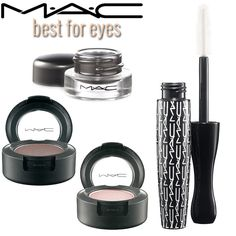 Best of MAC: Eyes - The best MAC makeup products for your eyes. The pro makeup artists have these in their kits, and if they are good enough for them, they should be in our makeup bags too!
