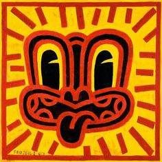Red Haring by Dick Frizzell (New Zealand Artist)