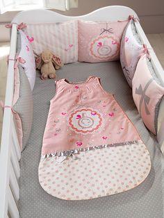 Tour de lit bébé modulable thème Ti-senbon