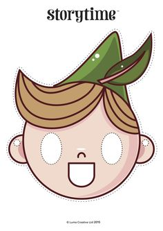 Peter Pan starred in Storytime Issue 11! Act out the story with our free printable mask. ~ STORYTIMEMAGAZINE.COM