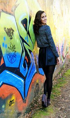 Graffiti wall photoshoot. Wall art Atlanta