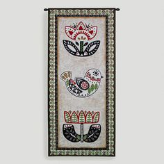 One of my favorite discoveries at WorldMarket.com: Folk Song Tapestry