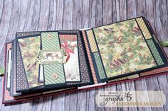 Winter Wonderland Mini Album, Project by Alexandra Morein, featuring Winter Wonderland by Graphic 45!