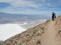 death valley hiking nature