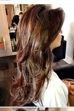 Nina Dobrev  side bangs - long layers - highlights in hair  by Riawna Capri at nine|zero|one Nine Zero One salon in Los Angeles