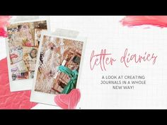 (565) Letter Diary Journal - YouTube Festival Outfits, Festival Fashion, Journal Diary, Bullet Journal, Favourite Festival, Rave Outfits, You And I, The Creator, Lettering