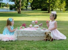 tea party photo shoot with children | Princess Tea Party » Captured by Cassandra Photography