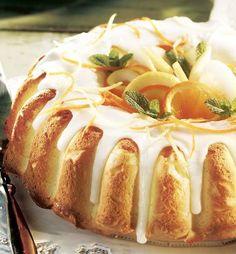 Lemon Cream Cheese Pound Cake - Demarle at Home