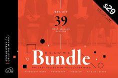 curriculum vitae templates 94% OFF Resume/CV Bundle by bilmaw creative on @creativemarket #resume #cv #template