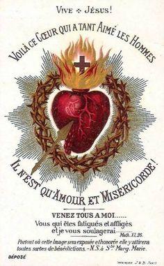 Message de Jésus à Sainte Marguerite Marie Alacoque.