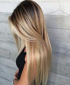 color rubio claro del pelo balayage ceniza