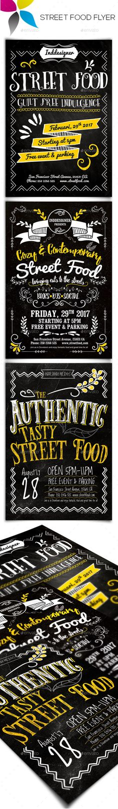 Street Food Flyer  - PSD Template • Only available here ➝ http://graphicriver.net/item/street-food-flyer/14861432?ref=pxcr